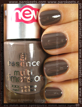 Essence (Multi Dimension XXXL Shine) - Most Wanted swatch