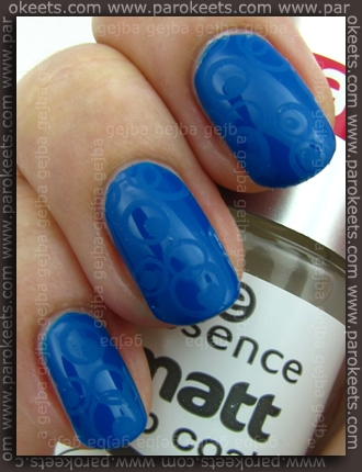 Essence (Denim Wanted): Forever Mine + konadicure with Matte Top Coat + fauxnad H7