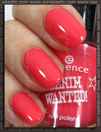 Essence (Denim Wanted): High Waist Pink swatch