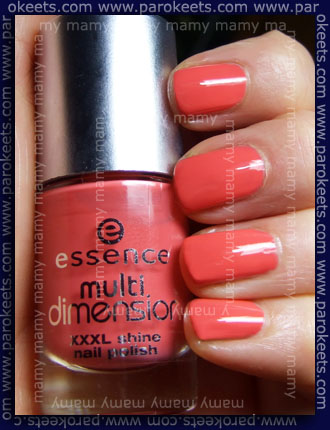 Essence Multi Dimension XXXL Shine - Just Shout! swatch