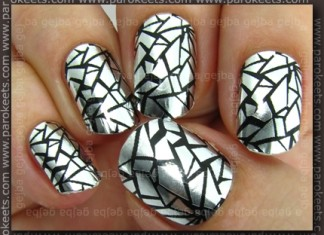 Essence - Nail Fashion Sticker: Unexpected! swarch