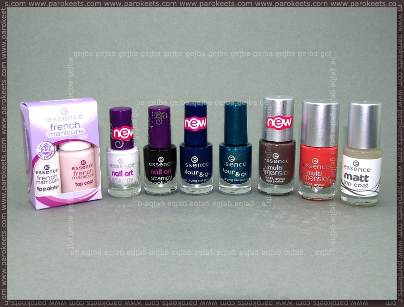 Essence: new polishes (fall 2010)