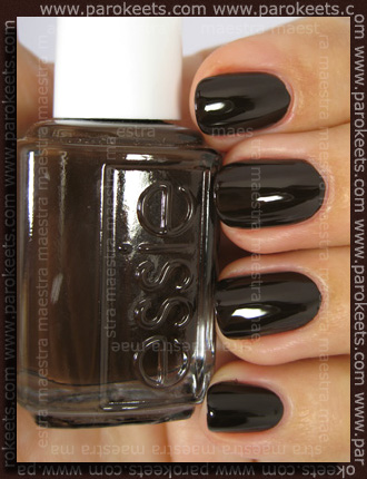 Swatch: Essie Fall 2010 - Little Brown Dress
