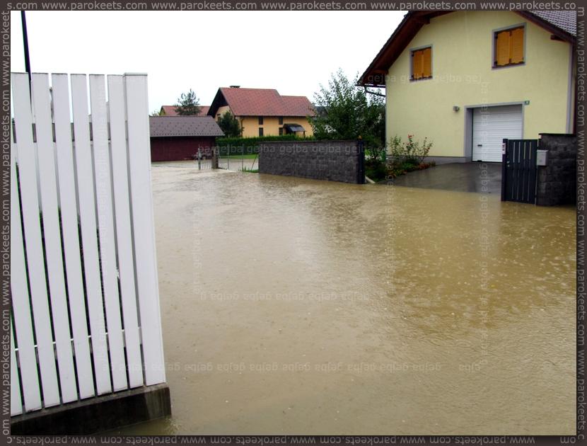 Flood in Ljubljana - 18.09.2010