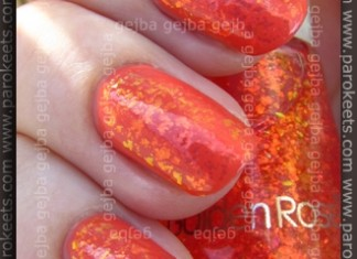 Catrice I Scream Peach + Golden Rose Scale Effect 12 swatch