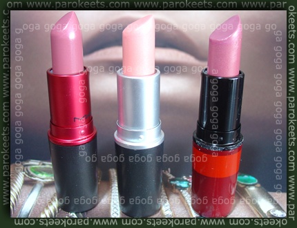 MAC: Viva Glam VI, Emanuelo Ungaro Pure Rose, To Swoon For