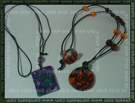 Accessorie - home made necklace and ring