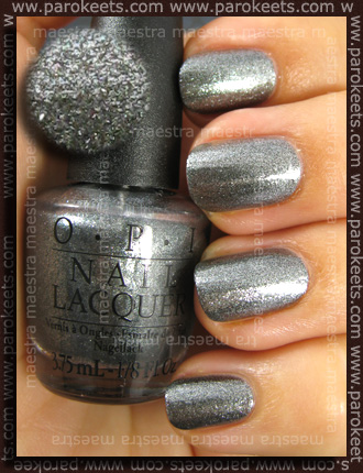 OPI Swiss - Lucerne-tainly Look Marvelous swatch by Parokeets