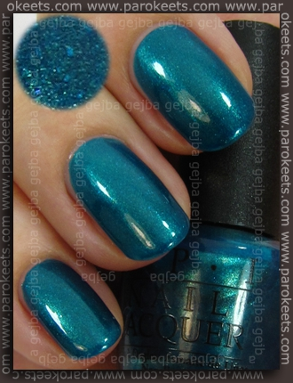 OPI Swiss - Yodel Me On My Cell swatch by Parokeets