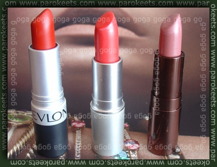 Revlon Really Red Essence Almoust Famous Catrice Gentle Nude