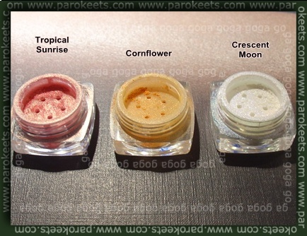 Sweetscents Tropical Sunrise, Cornflower, Crescent Moon