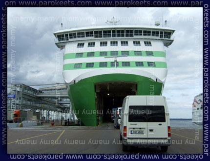 Trajekt/Ferry: Tallinn - Helsinki