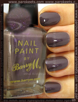 Swatch: Barry M - Dusky Mauve