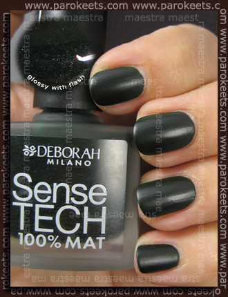 Swatch: Deborah - Dandy Glam Fall 2010: Sense Tech - 07 Woody Green