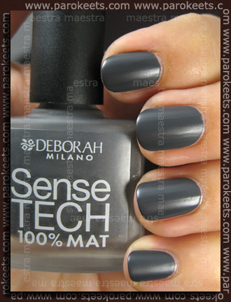 Swatch: Deborah - Dandy Glam Fall 2010: Sense Tech - 08 Dark Grey