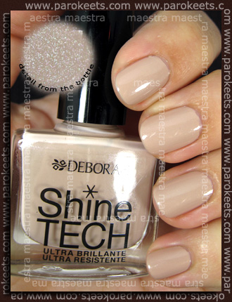 Swatch: Deborah - Dandy Glam Fall 2010: Shine Tech - 50 Nude Beige