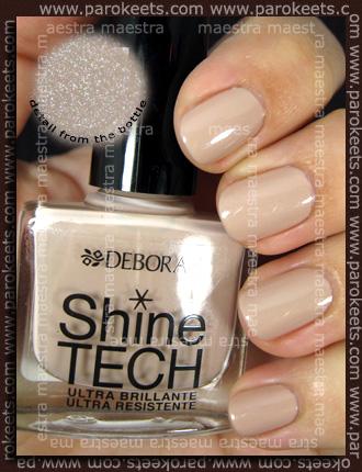 Swatch: Deborah - Dandy Glam Fall 2010: Shine Tech - 50 Nude Beige