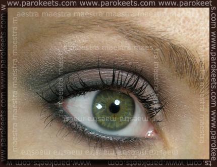 Deborah - Dandy Glam Fall 2010: make up by Maestra
