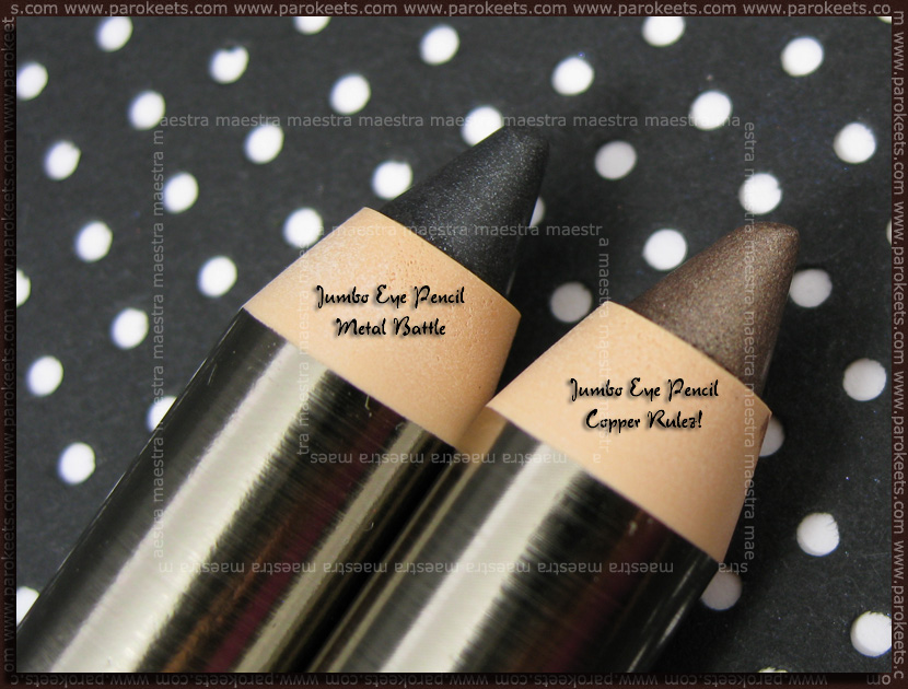 Essence Metallics Trend Edition: Jumbo Eye Pencil - Metal Battle and Copper Rulez!