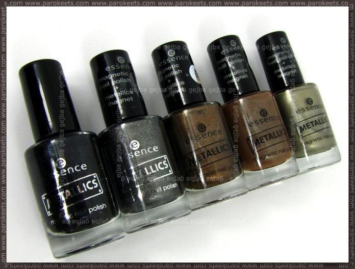Essence Metallics polishes