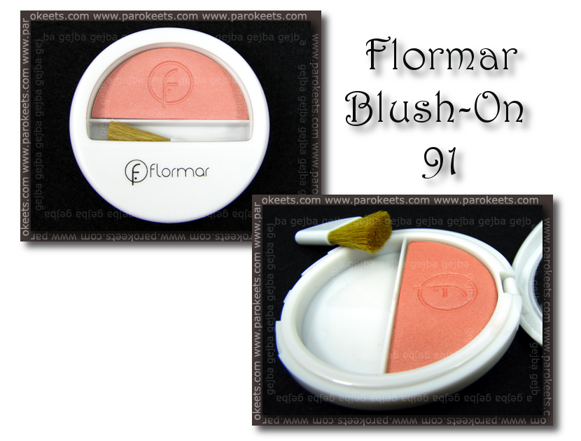 Flormar: Blush On 91 packaging