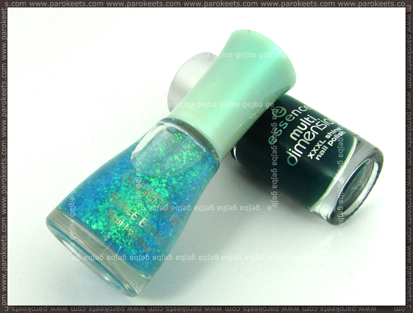 Golden Rose Scale Effects no. 06, Essence Trendsetter by Parokeets