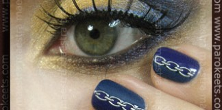 Illamasqua: Art Of Darkness - make up and manicure by Maestra