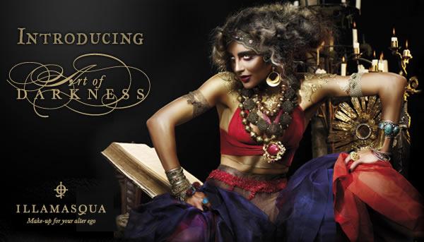 Illamasqua - Art Of Darkness collection (promo image)