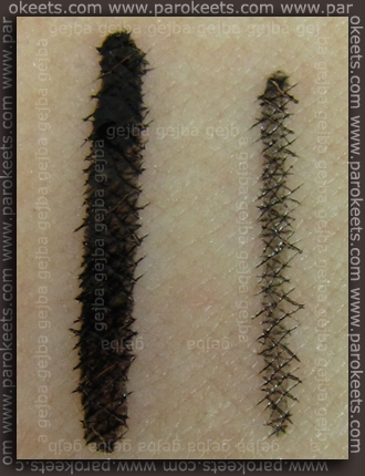 Swatch: Illamasqua: Precision Ink - Abyss