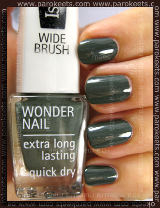 Swatch: IsaDora - Trend Nails Fall Collection - In The Army