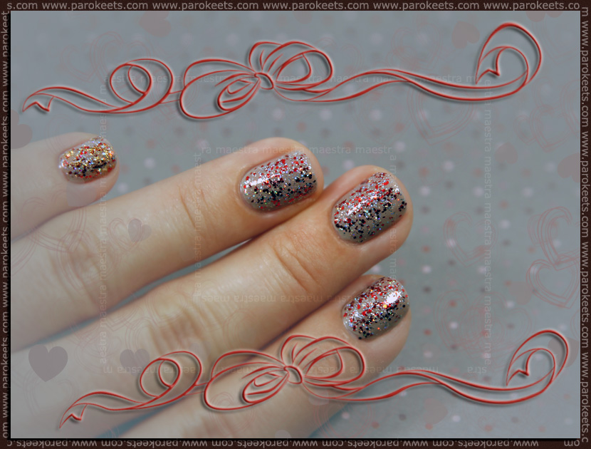 Maestra's B-day manicure