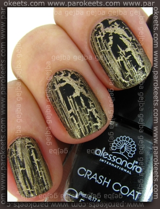 Alessandro Go Magic! - Royal Crash Crash Coat swatch