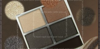 Essence Metallics TE - Copper Rulez! quattro eyeshadow swatch