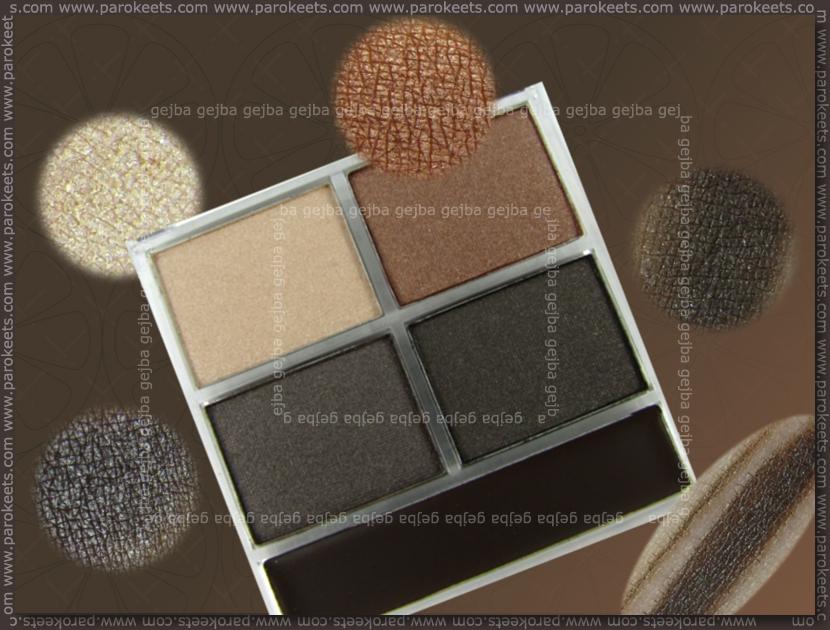 Essence Metallics TE - Copper Rulez! quattro eyeshadow swatch