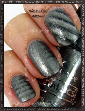 Essence Metallics Steel Me by Parokeets