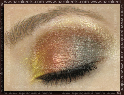 Flormar: Quattro Eyeshadow - 408 make up by Maestra