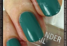 IsaDora Jaded + Matte Top Coat swatch by Parokeets