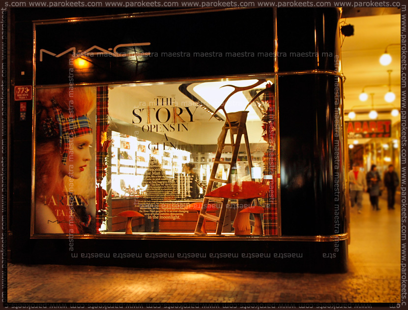 MAC store in Prague