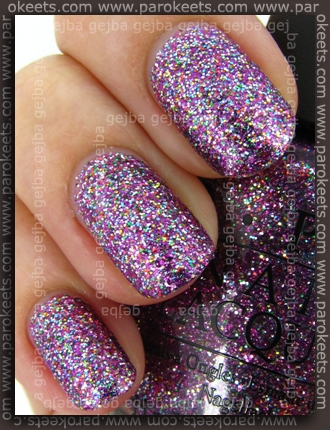 OPI Burlesque - Show It And Glow It! swatch