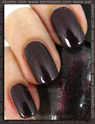 OPI Burlesque - Tease-Y Does It! swatch