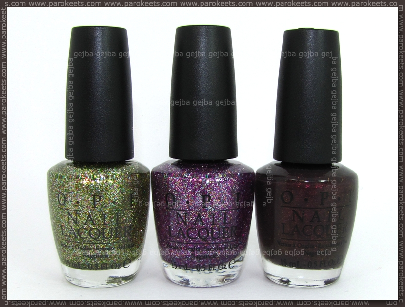OPI Burlesque by Parokeets