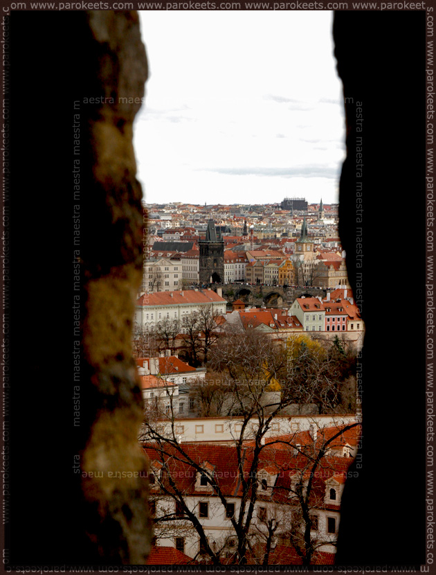 Prague 2010: Charles Bridge from the Hradcany
