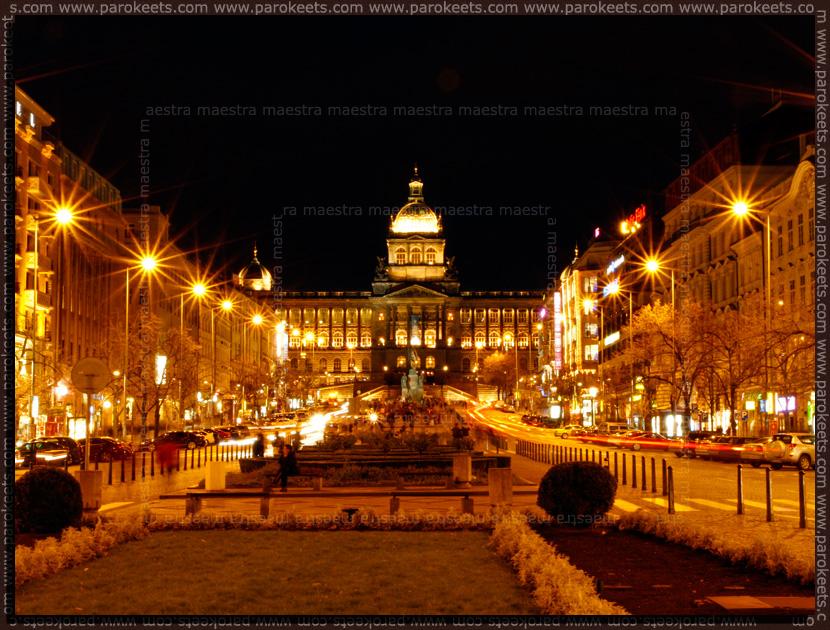Prague - 2010: Wenceslas Square