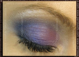 Purple MU with Catrice and Flormar by Maestra
