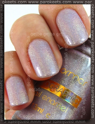 Flormar Holographic polish no.804 swatch