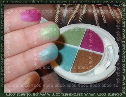 Flormar Quartet Eyeshadow 405 swatch