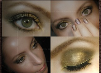 EOTD: Fyrinnae: Lucky Charmed, Everyday Minerals: Sweet Woodruff, I'm keeping your CDs, Make Up Factory: gold eyeliner
