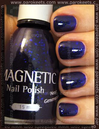 NOTD: Magnetic - Freakin' Violet