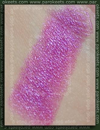 Milani Lipstick Magenta Madness swatch