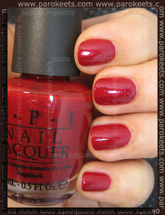 Swatch_ OPI - Ali's Big Break